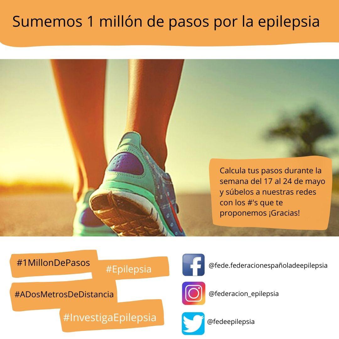 1 millón de pasos por la Epilepsia